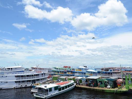 Porto de Manaus é embargado por falta de licença ambiental e plano de emergência