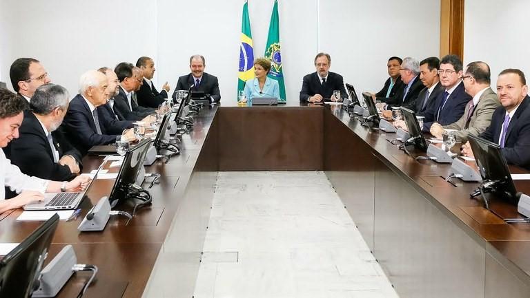 Reunião com Ministros