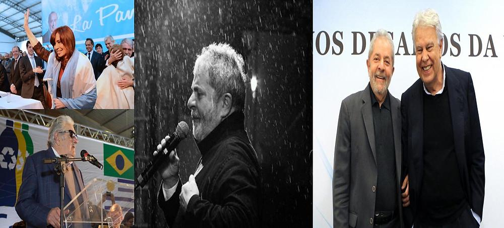 Foto: Presidência da Argentina; Foto: Caco Argemi/UPPRS e Foto: Heinrich Aikawa/Instituto Lula