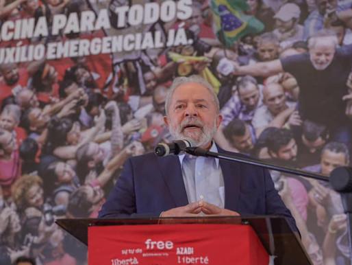 Presidente Lula articula vinda de vacina e insumos de Rússia e China