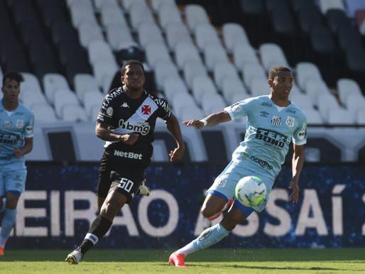 Brasileirão: Vasco segura Santos e vence em São Januário por 1 a 0
