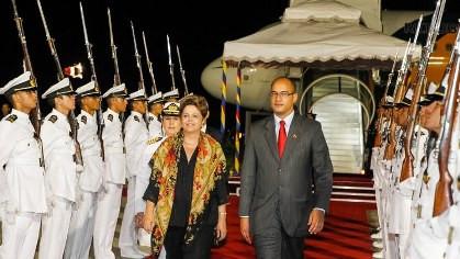 Presidenta Dilma Rousseff durante chegada à Caracas - Venezuela. (Caracas - Venezuela, 28/07/2014) Foto: Roberto Stuckert Filho/PR