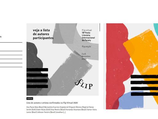 Flip 2020: conheça a lista completa de autores convidados