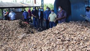 Sinésio realiza visita técnica a comunidades rurais de manejo sustentável do babaçu,  no Maranhão