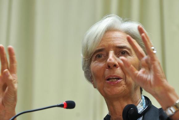 """Lagarde sugere três """"políticas imperativas"""", como a abertura da economia chinesa, a redução das diferenças entre pobres e ricos e entre zonas urbanas e rurais e investimento em Investigação e Desenvolvimento (I&D) Marcello Casal Jr./Arquivo/Agência Brasil"""