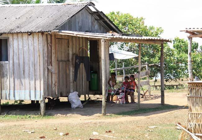 Comunidade do povo indígena Mura, no Amazonas (Foto: Ascom/MPF)