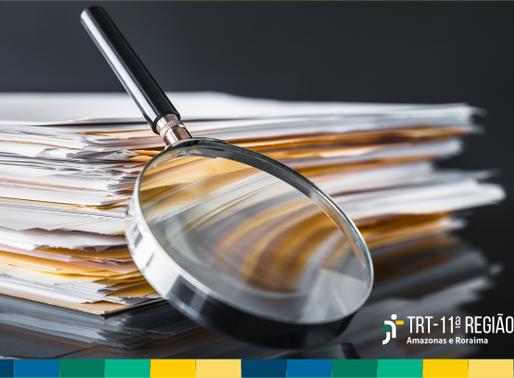 Projeto Garimpo: TRT11 recupera mais de R$ 637 mil em contas judiciais de processos arquivados