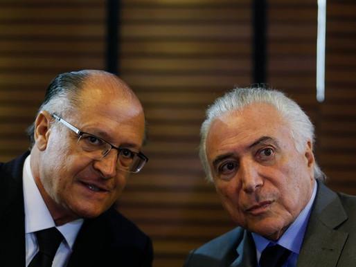 Temer admite que Alckmin é o candidato do governo golpista
