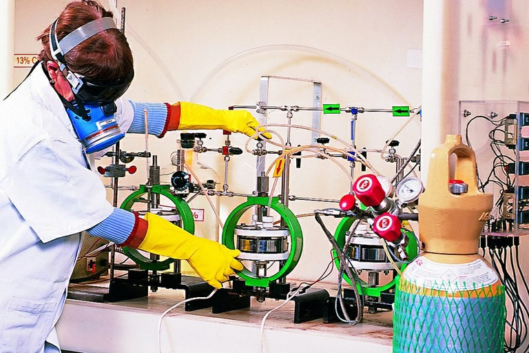 Laboratório de Ensaios de H2S, CO2 e Corrosividade do Instituto Nacional de Tecnologia Foto: MCTI