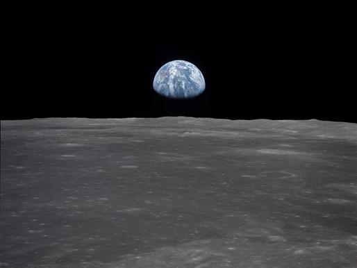 Apollo 11 se aproxima da lua