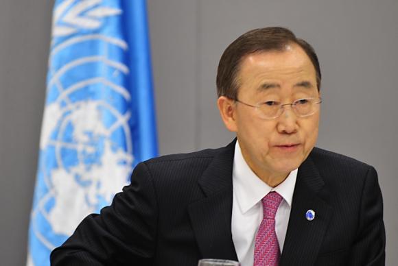 O secretário-geral da ONU, Ban Ki-moonMarcello Casal Jr./ABr