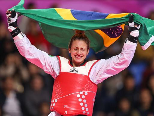 Em dia de muitas medalhas no Pan, taekwondo brasileiro faz história