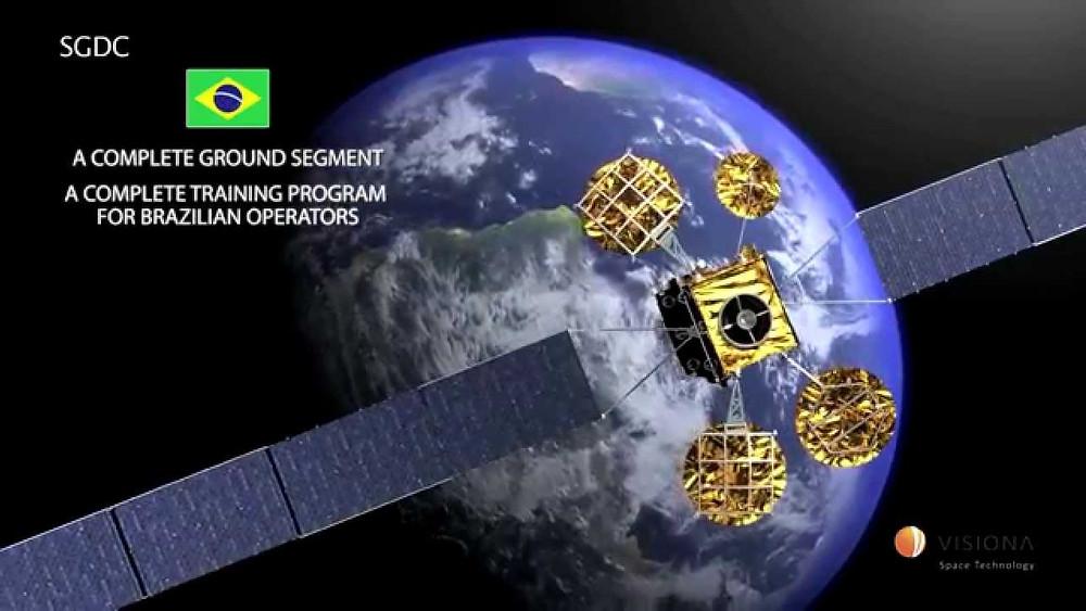 Satélite Geoestacionário - imagem; youTube