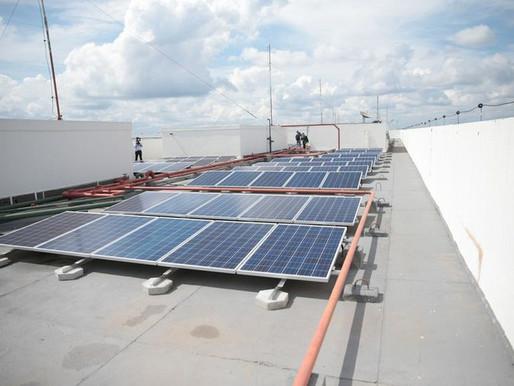 Minas e Energia inaugura 1ª usina solar em prédio do governo federal
