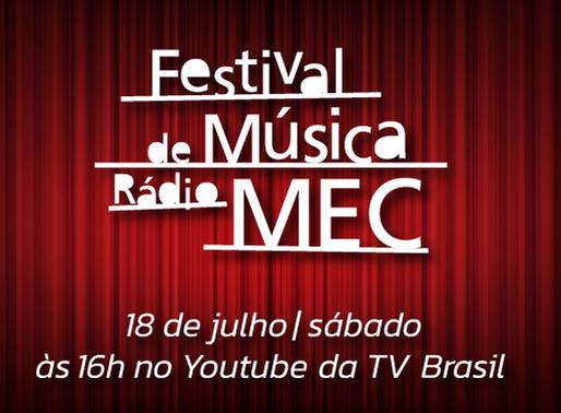 Live do Festival de Música da Rádio MEC anuncia semifinalistas