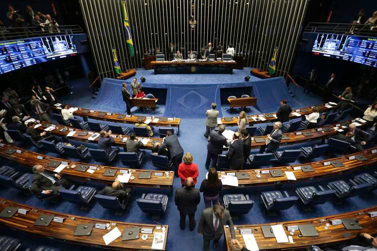 O reajuste para o STF foi aprovado por 41 votos a 16, com uma abstenção -Foto: Arquivo/Agência Brasil
