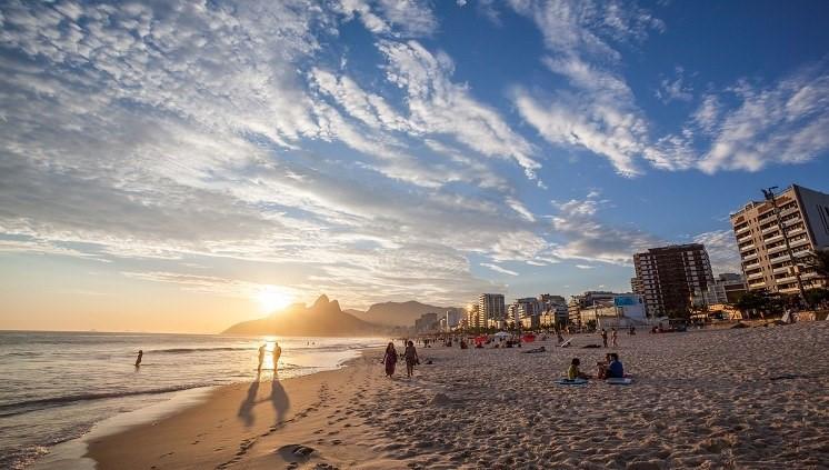 Praias atraem turistas para o litoral brasileiro Divulgação/EmbraturPraias atraem turistas para o litoral brasileiro Divulgação/Embratur