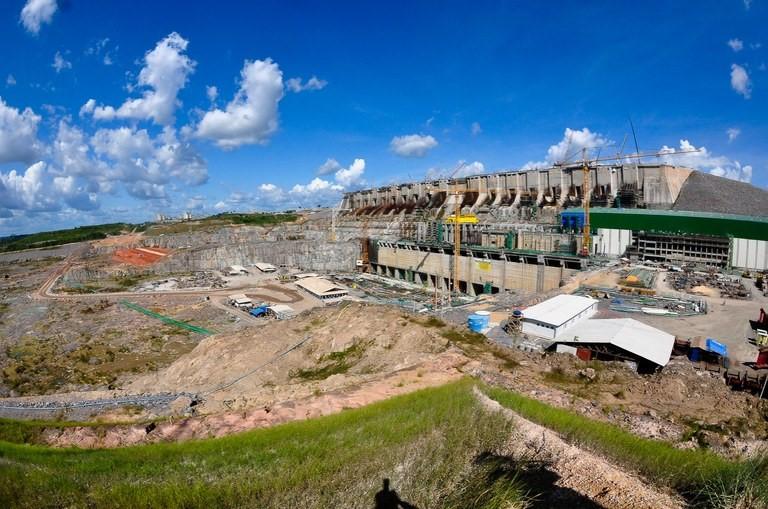 Imagem aérea da hidrelétrica de Belo Monte, no Pará Divulgação/SAE