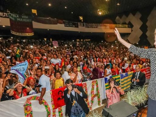 Dilma participa da abertura da 4ª Conferência Nacional de Política para as Mulheres