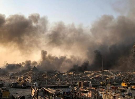 Líbano: explosão em Beirute amplia caos em um país já em grave crise