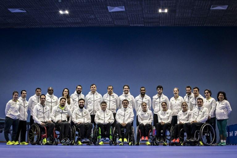 O time será o primeiro da história a competir em todas as 23 modalidades que compõem o programa paralímpico Foto: Marcio Rodrigues/MPIX/CPB