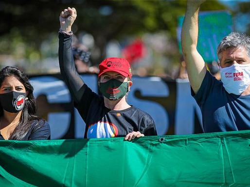 Em Brasília, oposição popular demarca terreno com o fascismo