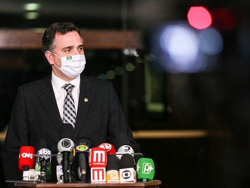 Pacheco diz que eleições de 2022 são 'inegociáveis' e defende prerrogativas dos senadores