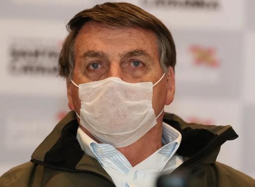 Irresponsável e negacionista, Bolsonaro é contaminado pela Covid-19