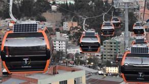 Bolívia entra para o Guinness com a maior rede de teleféricos do mundo