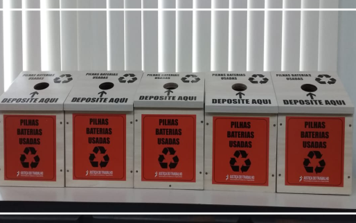 Varas do Trabalho no interior do AM vão receber coletores de pilhas e baterias