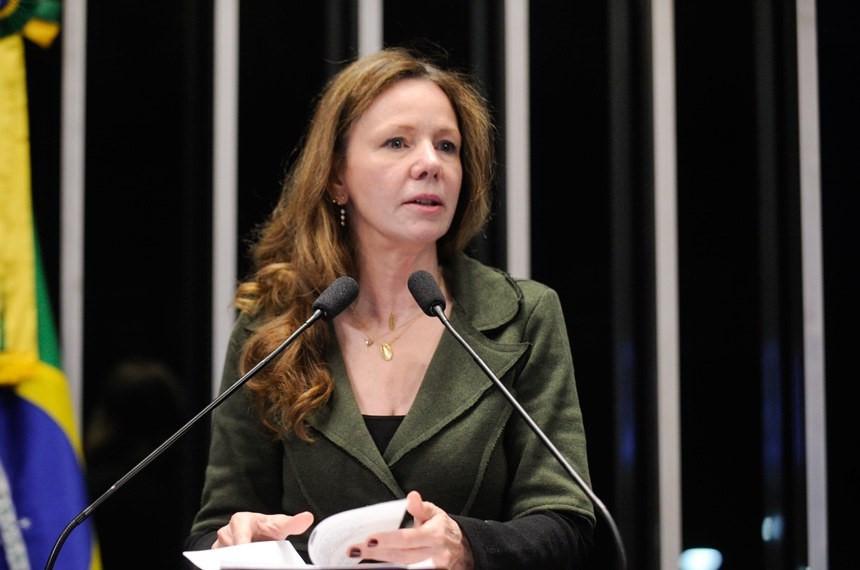 senadora Vanessa Grazziotin (PCdoB-AM) - Jefferson Rudy/Agência Senado
