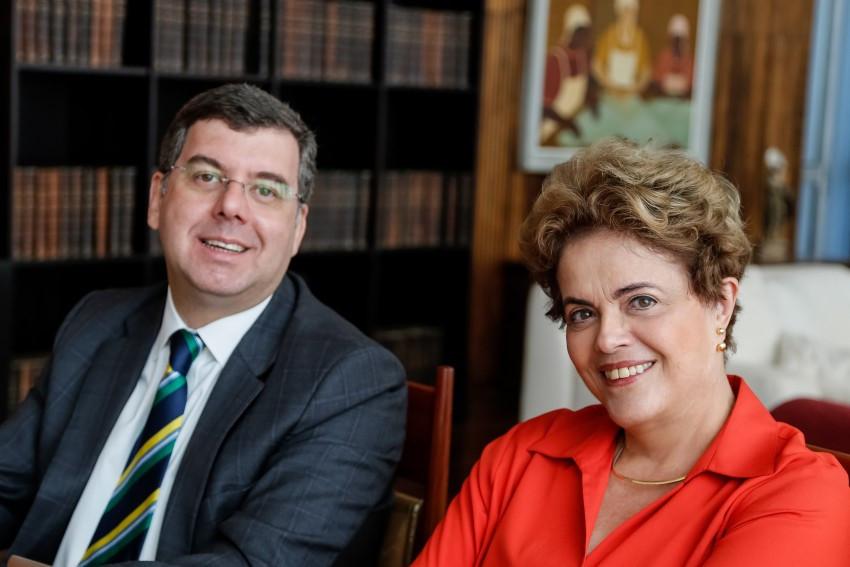 Presidenta eleita Dilma Rousseff  e Ministro do Esporte do governo eleito, Ricardo Leyse e Foto: Roberto Stuckert Filho/PR