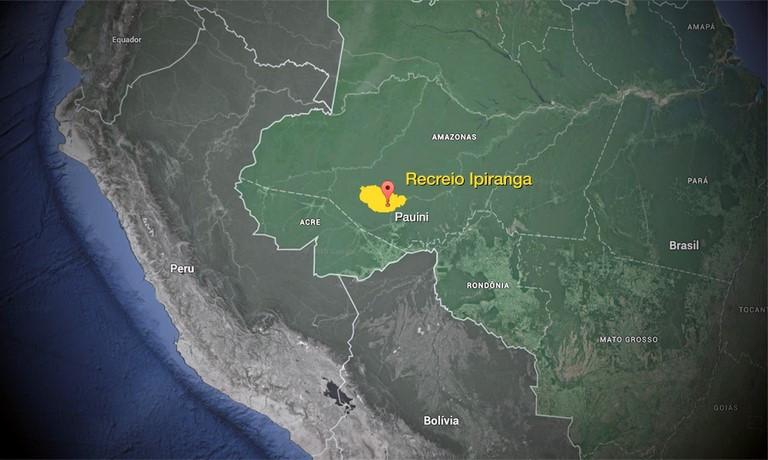 O imóvel abrange a terra indígena Inauini/Teuini e outra parte consiste em terras do Estado Alex Próspero/AscomAGU
