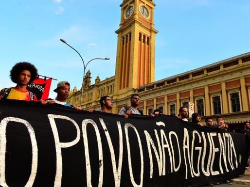 Sexta manifestação contra aumento da tarifa em São Paulo termina pacífica