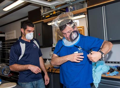 NASA se une à equipe da Califórnia para desenvolver soluções COVID-19