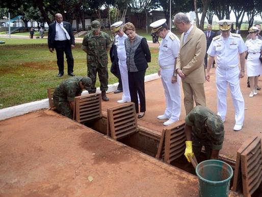 Papel das Forças Armadas no combate ao Aedes aegypti é destacado por Dilma