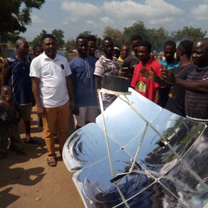 The Installation of Solar Cookers at Benue IDP Camp