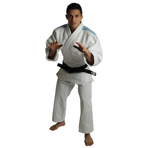 Kimono Judo J990 adidas Millenium Lista Azul