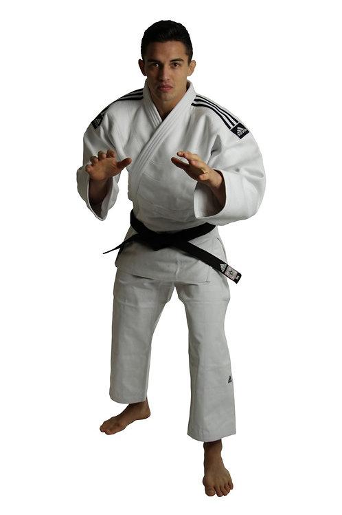Kimono Judo Champion II adidas com novo Selo Eletronico da IJF