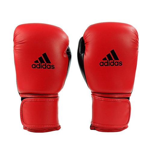 Luva de Boxe Muay Thai Adidas Power 100 Colors Vermelho/Preto