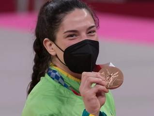 TRÊS VEZES MAYRA AGUIAR - Bronze em Tokyo 2020/2021