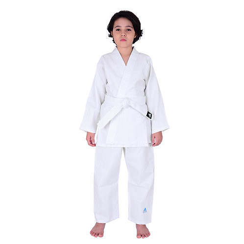 Kimono Infantil Judo adidas adiSTART J200_20WB Branco