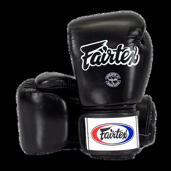 Luva de Boxe e Muay Thai Fairtex Preta