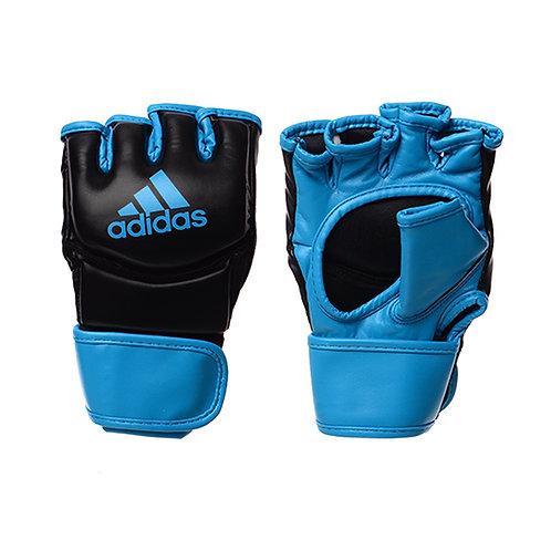 Luva adidas MMA PU Preta/Azul