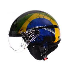 0789 - Capacete Kraft - Brasil - Preto B