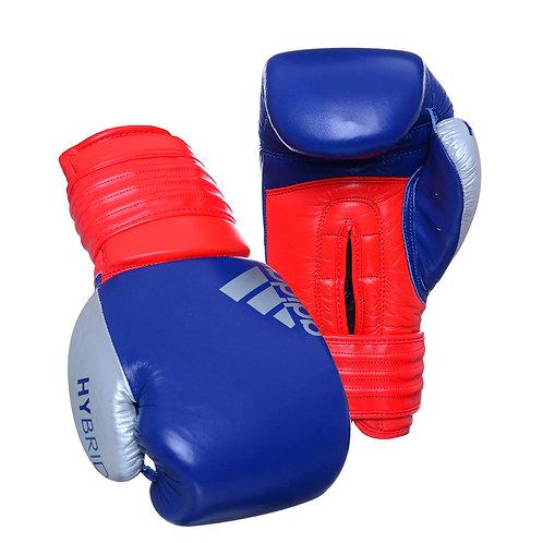 Luva de Boxe Muay Thai Adidas Hybrid 300 Azul/Vermelho