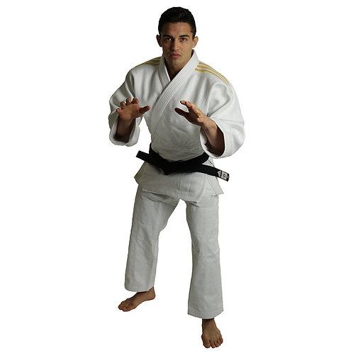 Kimono Judo J990 adidas Millenium Lista Dourada
