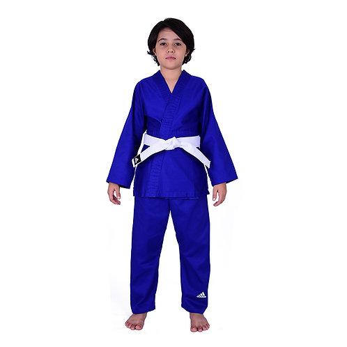 Kimono Infantil Judô adiSTART adidas J200_20WB  Azul