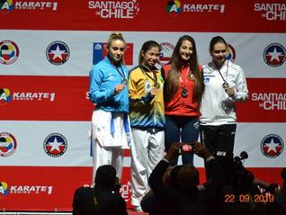 Team adidas Karatê Brasil - Resumo de participação: Karate1 - Série A - Santiago/Chile 2019