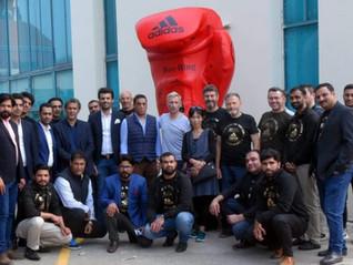 MKS Distribuidora representada pelo CEO Murilo Saba, está presente no adidas Meeting Dubai 2020